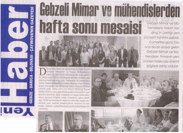 Yeni Haber صحيفة
