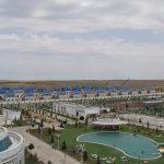 شركة بري فابريك يابى المساهمة قامت بالإنتاج الأولي لـ 48 فيلا من الصلب الخفيف في تركمانستان