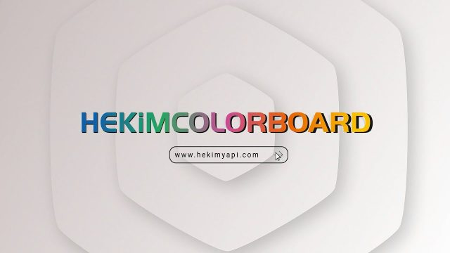 HekimColorBoard | الإسمنت الليفي الملون ذاتيا الأول في تركيا
