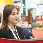 مقابلة أوزجه حكيم في معرض اسطنبول الحادي والأربعين للبناء