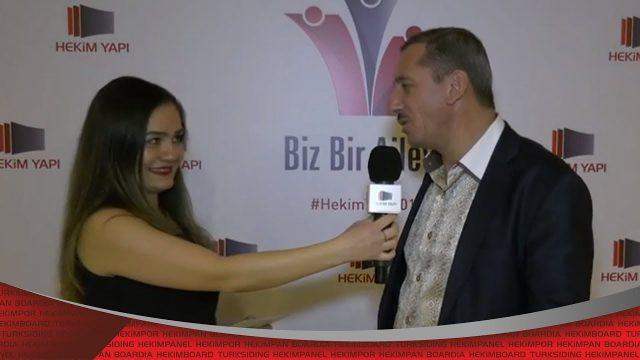 مقابلات اجتماع الوكلاء الموزعين لشركة حكيم للبناء