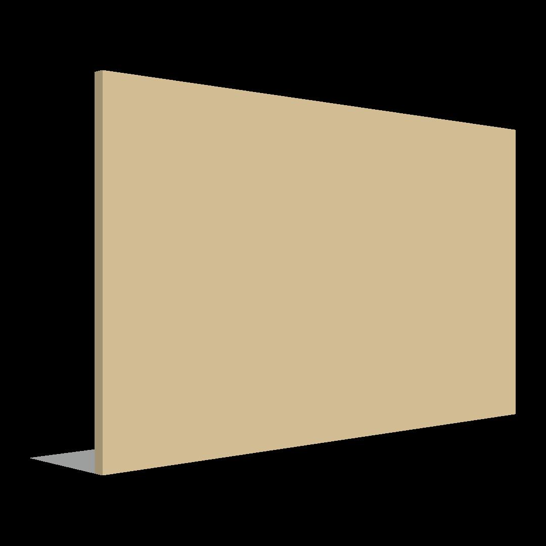 لوحة خارجية مسطحة