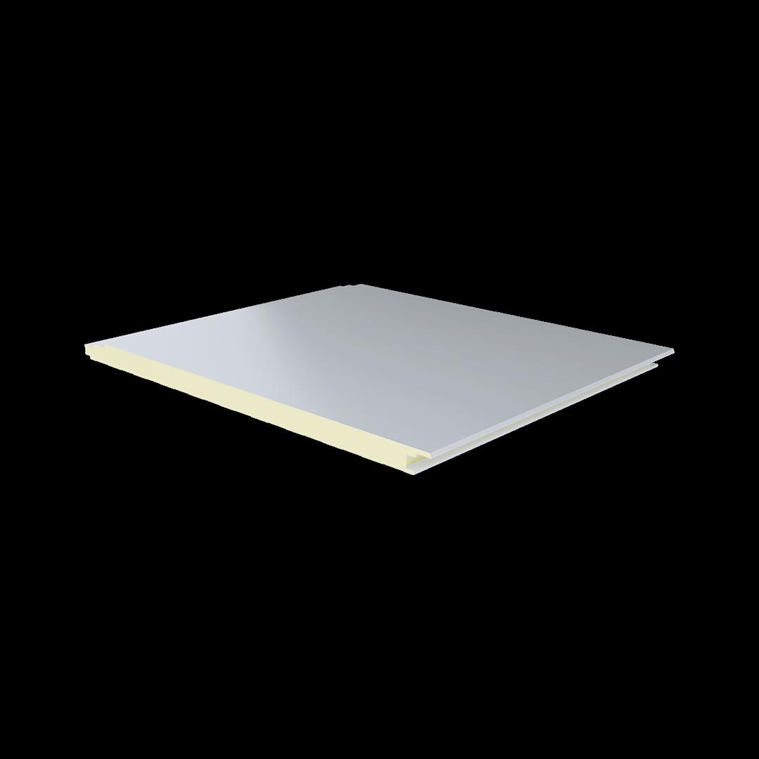 ألواح ذات ضلع واحد بتجويف رقاقة معدن – البولي يوريثين – رقاقة معدن