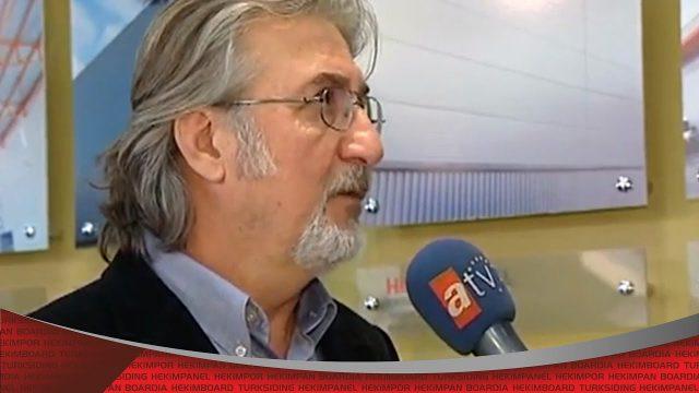 برنامج رؤية على قناة ATV أوروبا (معرض البناء 2014)